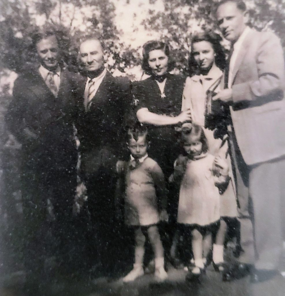The Ryback's in Italy (1949).