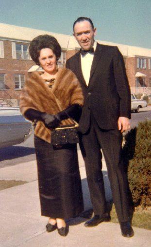 17 Living the American Dream - Lea and Paul black tie 1960