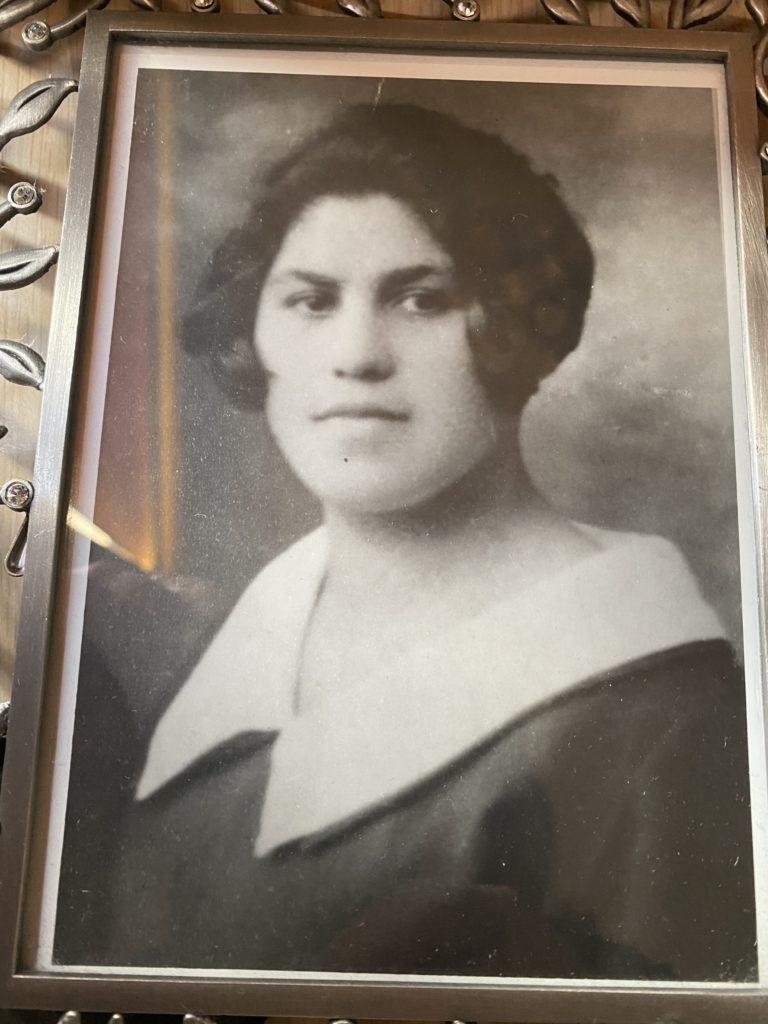 Robert's mother, Chai Gittle, in 1929.