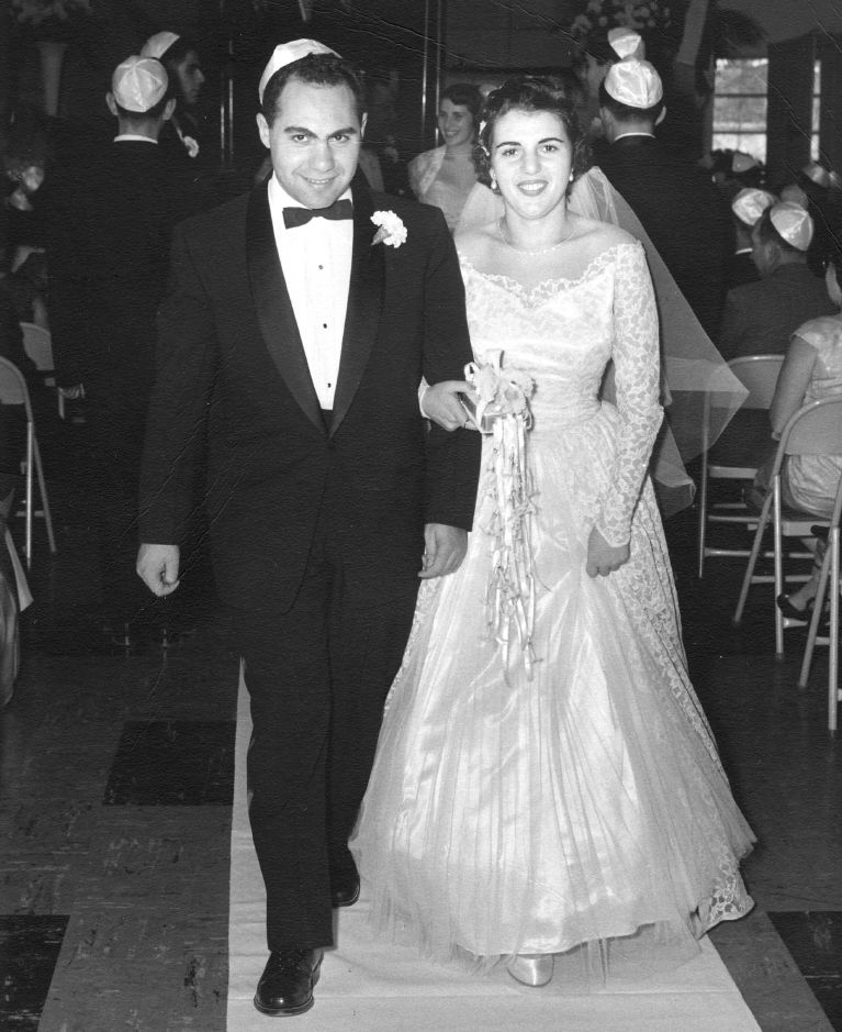 1955   Philip  Ruths Wedding Dec 11 1955