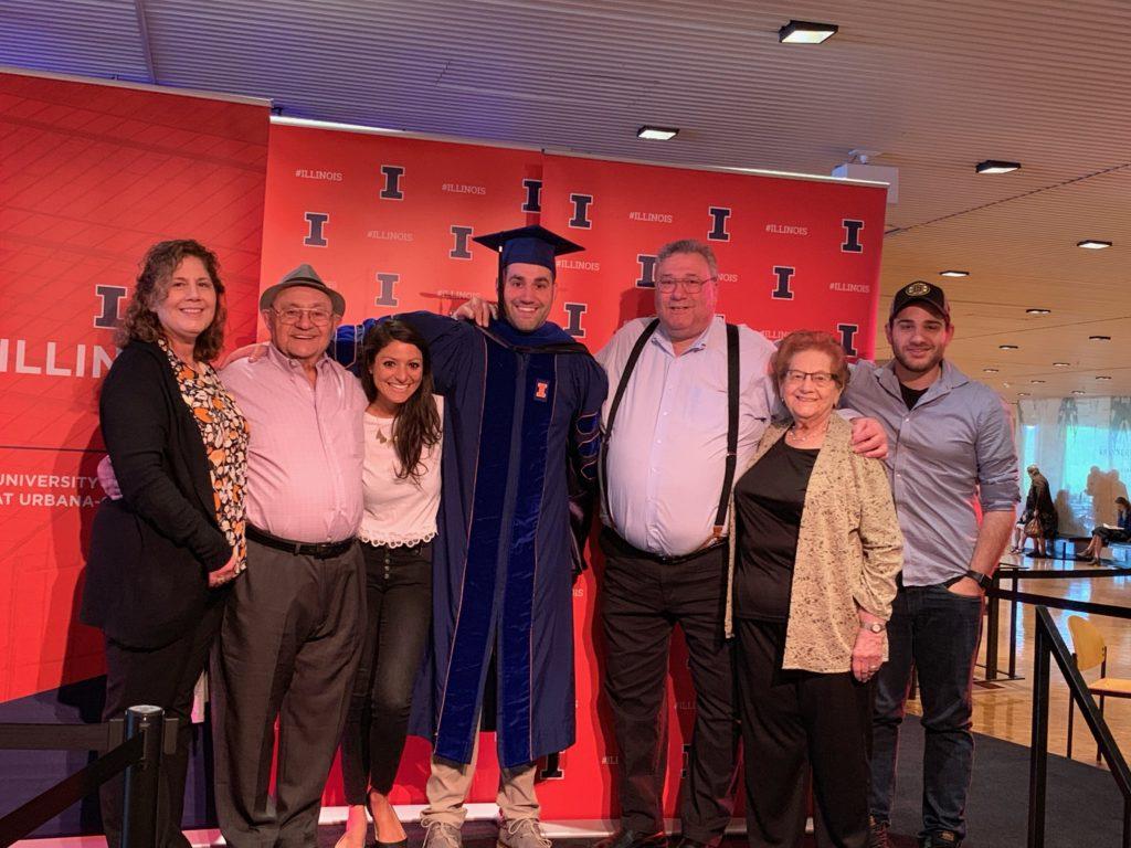 2019 - Jason's PHD Graduation