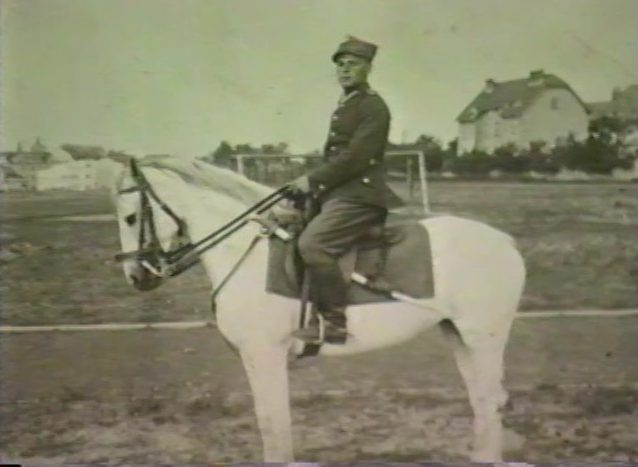 Chaim Wolfe in the Polish Army (1938).