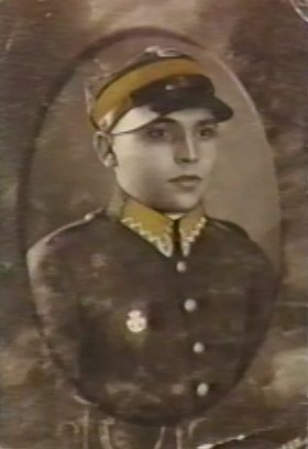 Rachel's first husband, Eliahu Kostashinski, in 1934. Eliahu was killed in July 1944.