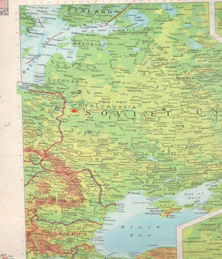 Gertrude Boyarski map