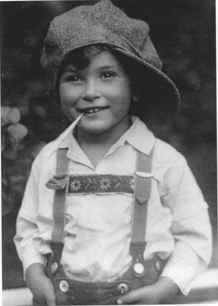 Harry as boy vienna 1929