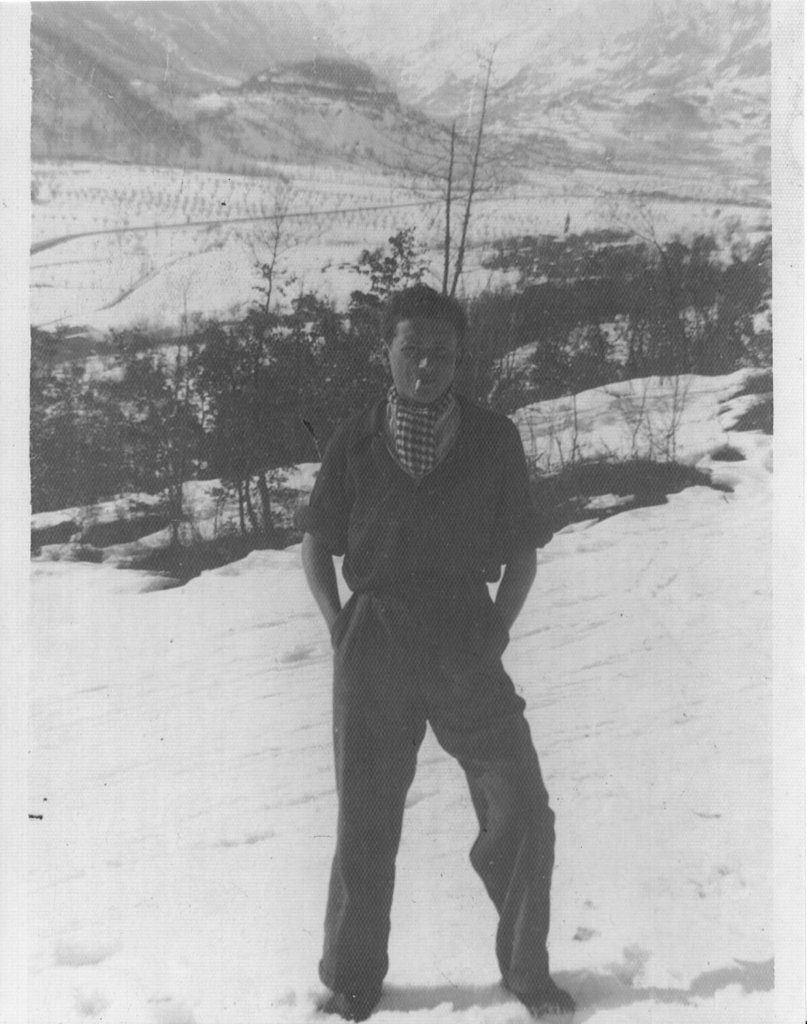Harry in Moutains 1944