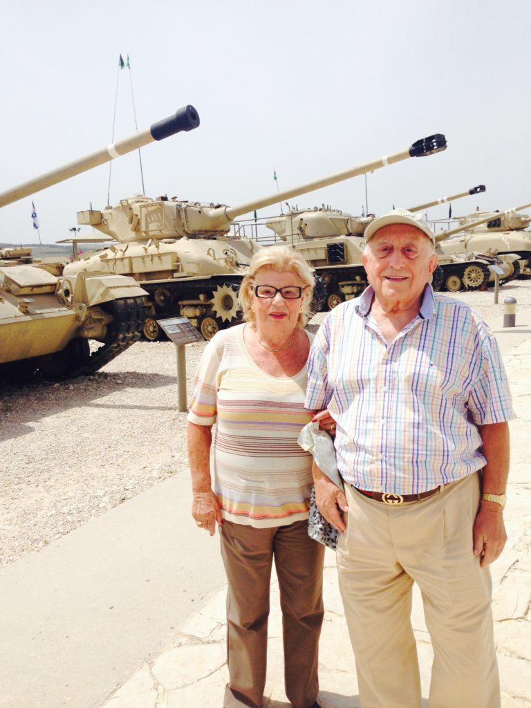 Israel 2014 Sara and Charles