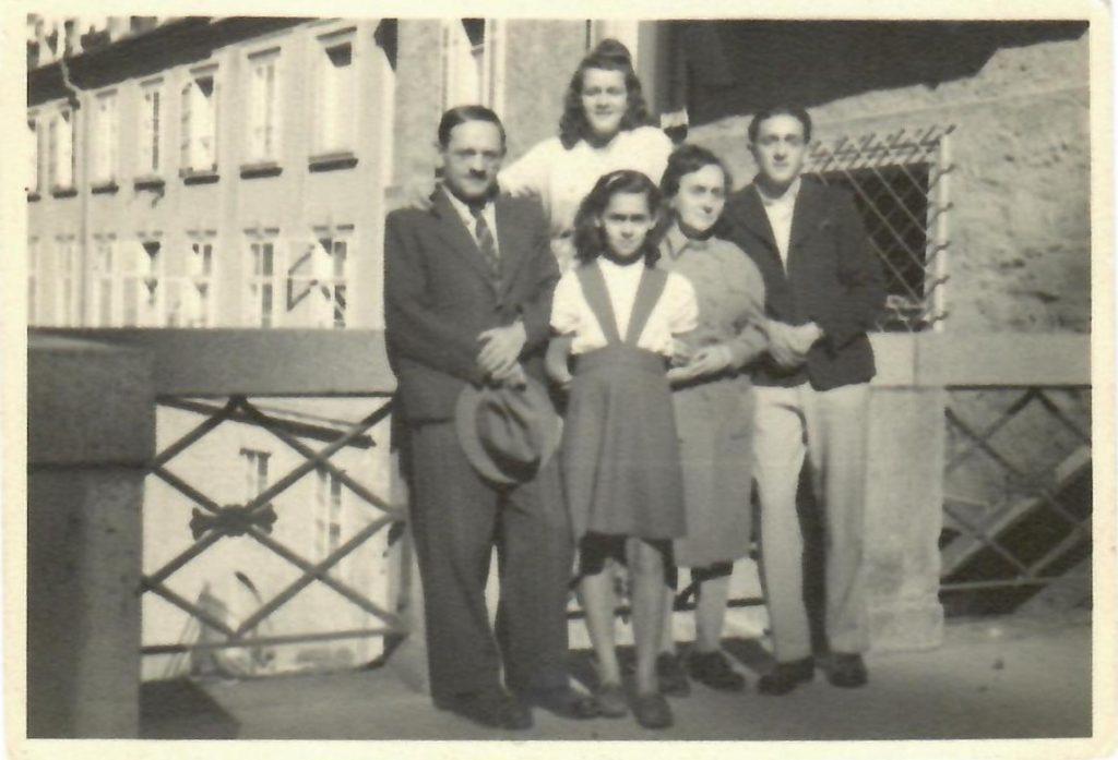 Leon, Ann, Vivian, Sarah, and Michael.