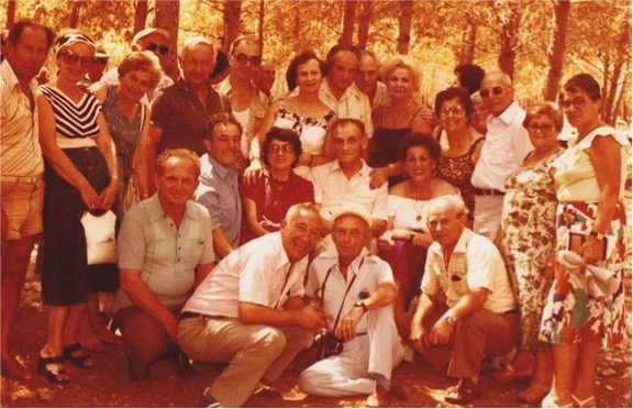 Oscar Partisan reunion 1984