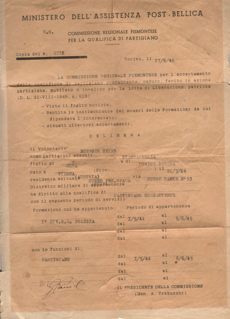 Partisan discharge papers46