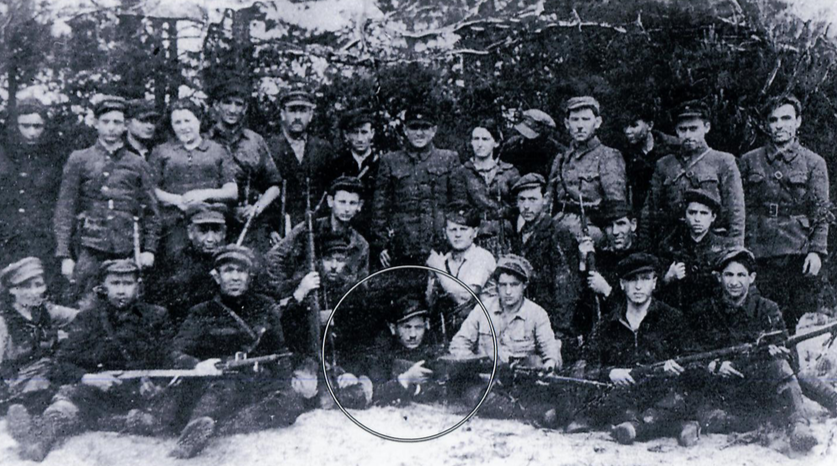 Velvel in the Bielski Partisans