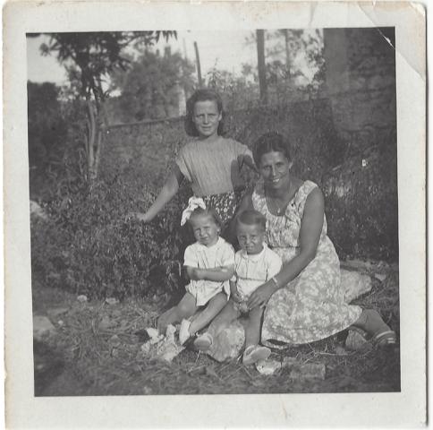 Sylvia Hymie Bubby preschoolers Italy babysitter