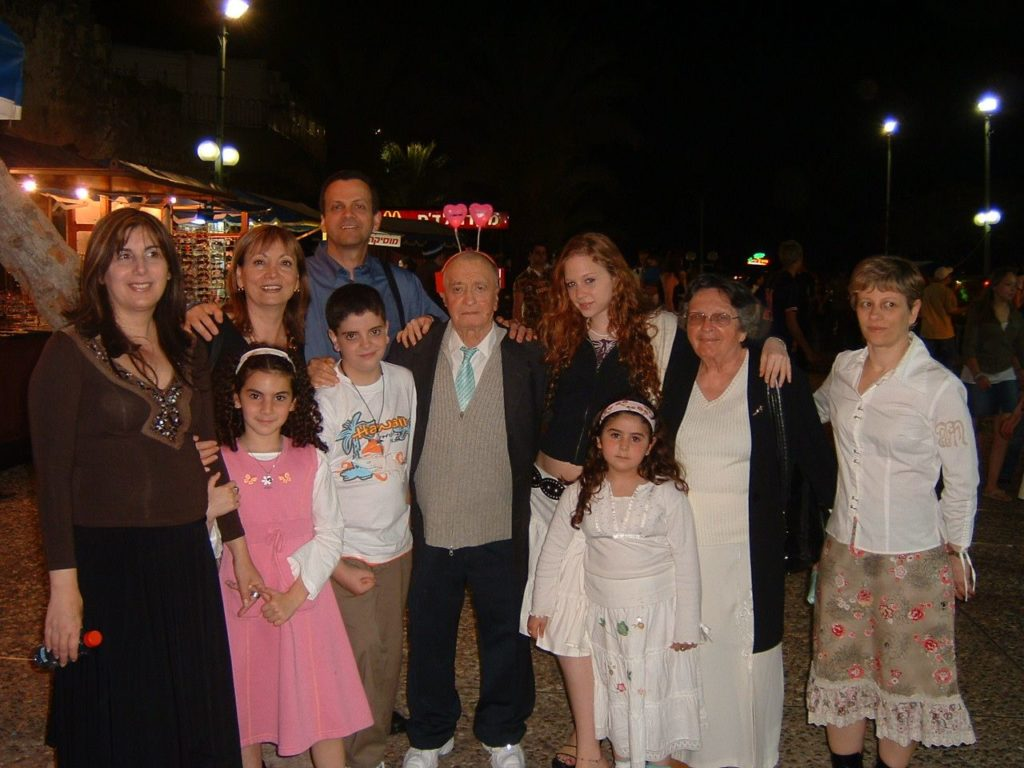 The Etkin family2- Passover 2006 in Tiberias
