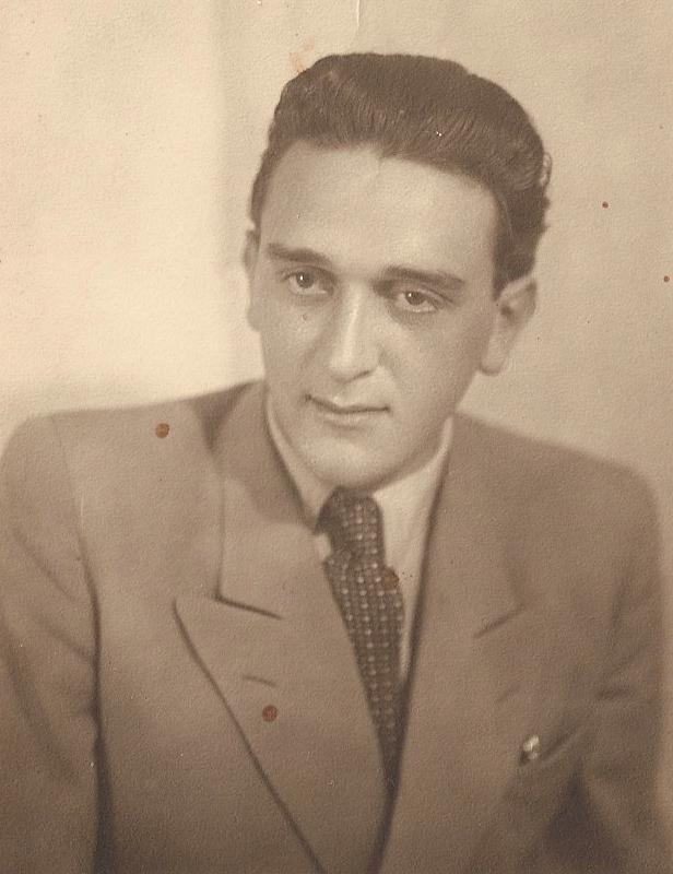 Michael Stoll  1946 Badgastein DP camp